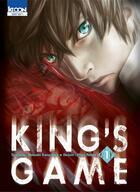 Couverture du livre « King's game t.1 » de Hitori Renda et Nobuaki Kanazawa aux éditions Ki-oon