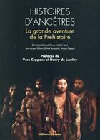 Couverture du livre « Histoire d'ancetres » de Grimaud-Herve Domini aux éditions Errance
