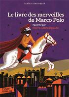 Couverture du livre « Le livre des merveilles de Marco Polo » de Pierre-Marie Beaude aux éditions Gallimard-jeunesse