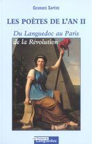 Couverture du livre « Poetes De L'An Ii » de Georges Sapede aux éditions Nouvelles Presses Du Languedoc