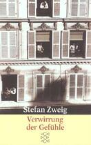 Couverture du livre « Verwirrung der gefuhle, die » de Stefan Zweig aux éditions Fischer Verlag