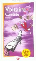 Couverture du livre « Candide » de Voltaire aux éditions Flammarion