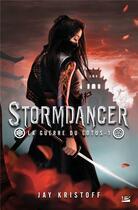 Couverture du livre « La guerre du lotus T.1 ; Stormdancer » de Jay Kristoff aux éditions Bragelonne