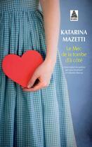 Couverture du livre « Le mec de la tombe d'à côté » de Katarina Mazetti aux éditions Actes Sud