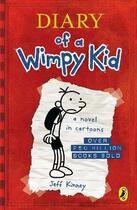 Couverture du livre « DIARY OF A WIMPY KID » de Jeff Kinney aux éditions Children Pbs