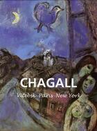 Couverture du livre « Chagall » de Sylvie Forestier aux éditions Parkstone International