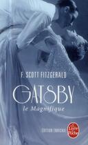 Couverture du livre « Gatsby le magnifique » de Francis Scott Fitzgerald aux éditions Lgf