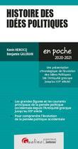 Couverture du livre « Histoire des idées politiques (édition 2020/2021) » de Kevin Henocq et Benjamin Galeran aux éditions Gualino