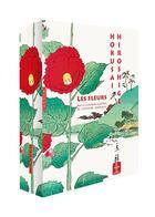 Couverture du livre « Les fleurs par les grands maîtres de l'estampe japonaise » de Amelie Balcou aux éditions Hazan