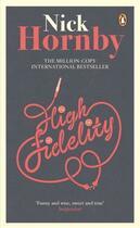Couverture du livre « HIGH FIDELITY » de Nick Hornby aux éditions Adult Pbs