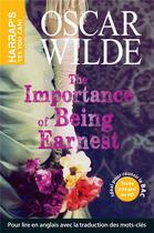 Couverture du livre « The importance of being Earnest » de Oscar Wilde aux éditions Harrap's