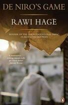 Couverture du livre « De Niro'S Game » de Rawi Hage aux éditions Adult Pbs