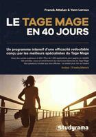 Couverture du livre « Tage mage marathon » de Franck Attelan aux éditions Studyrama