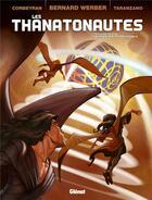 Couverture du livre « Les thanatonautes t.3 ; le temps des professionnels » de Eric Corbeyran et Bernard Werber et Pierre Taranzano aux éditions Glenat