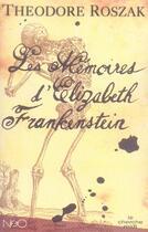 Couverture du livre « Les mémoires d'elizabeth frankenstein » de Theodore Roszak aux éditions Cherche Midi