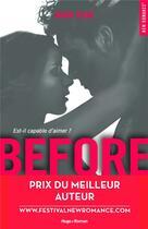 Couverture du livre « After ; before t.1 » de Anna Todd aux éditions Hugo Roman