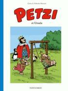 Couverture du livre « Petzi T.2 ; Petzi et Ursula » de Carla Hansen et Vilhelm Hansen aux éditions Place Du Sablon