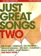 Couverture du livre « Just great songs two pvg » de Compilation aux éditions Id Music