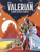 Couverture du livre « VALERIAN ; Valérian T.2 ; l'empire des mille planètes » de Pierre Christin et Jean-Claude Mézières aux éditions Dargaud