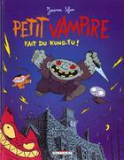 Couverture du livre « Petit Vampire T.2 ; Petit Vampire fait du kung-fu » de Joann Sfar et Sandrina Jardel aux éditions Delcourt