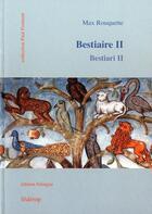 Couverture du livre « Bestiaire t.2 » de Max Rouquette aux éditions Federop