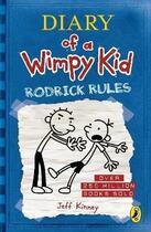 Couverture du livre « DIARY OF A WIMPY KID - RODRICK RULES » de Jeff Kinney aux éditions Puffin Uk