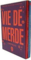 Couverture du livre « Vie de merde ; coffret » de Valette et Passaglia aux éditions Lgf