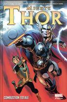 Couverture du livre « Mighty Thor T.2 ; combustion totale » de Collectif et Alan Davis aux éditions Panini
