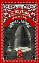 Couverture du livre « Autour de la Lune » de Jules Verne aux éditions Le Livre De Poche