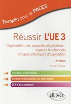 Couverture du livre « Paces ; Réussir L'Ue 3 (2e Edition) » de Jean Perisson aux éditions Ellipses Marketing