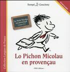 Couverture du livre « Lo Pichon Micolau en provençau » de Jean-Jacques Sempe et Rene Goscinny aux éditions Imav