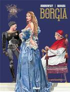 Couverture du livre « Borgia t.1 ; du sang pour le pape » de Alexandro Jodorowsky et Milo Manara aux éditions Drugstore