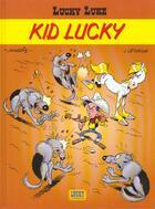Couverture du livre « Lucky Luke T.33 ; kid Lucky » de Jean Leturgie et Pearce et Morris aux éditions Lucky Comics