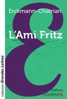 Couverture du livre « L'ami fritz (grands caracteres) » de Erckmann-Chatrian aux éditions Ligaran