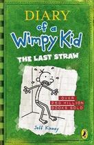 Couverture du livre « DIARY OF A WIMPY KID: THE LAST STRAW » de Jeff Kinney aux éditions Puffin Uk