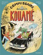 Couverture du livre « Commissaire Kouamé ; un si joli jardin » de Marguerite Abouet et Donatien Mary aux éditions Gallimard Bd