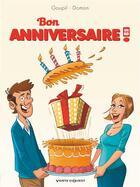 Couverture du livre « Bon anniversaire en BD » de Jacky Goupil et Jack Domon aux éditions Vents D'ouest