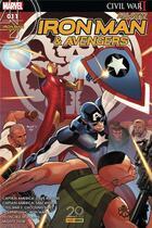 Couverture du livre « All-new Iron Man & Avengers N.11 » de All-New Iron Man & Avengers aux éditions Panini Comics Fascicules