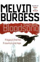 Couverture du livre « Bloodsong » de Melvin Burgess aux éditions Simon Pulse
