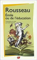 Couverture du livre « Emile ou de l'éducation » de Jean-Jacques Rousseau aux éditions Flammarion