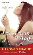 Couverture du livre « Les secrets d'Amy ; les lumières de Noël » de Joan Kilby et Angel Smits aux éditions Harlequin
