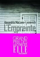 Couverture du livre « L'empreinte » de Alexandria Marzano-Lesnevich aux éditions Sonatine