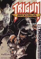 Couverture du livre « Trigun maximum t.13 » de Yasuhiro Nightow aux éditions Tonkam