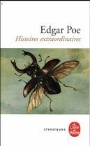 Couverture du livre « Histoires extraordinaires » de Edgar Allan Poe aux éditions Lgf