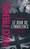Couverture du livre « Terrible jeudi ; le jour de l'innocence perdue » de Nicci French aux éditions Fleuve Noir