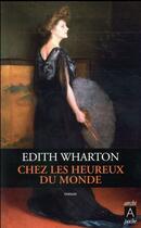 Couverture du livre « Chez les heureux du monde » de Edith Wharton aux éditions Archipel
