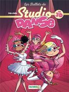 Couverture du livre « Studio danse HORS-SERIE ; les ballets de studio danse en 3D » de Crip et Beka aux éditions Bamboo