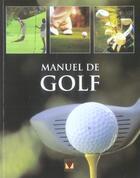 Couverture du livre « Manuel de golf » de Hyder aux éditions Modus Vivendi