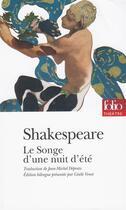 Couverture du livre « Le songe d'une nuit d'ete » de William Shakespeare aux éditions Gallimard