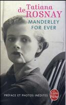 Couverture du livre « Manderley for ever » de Tatiana De Rosnay aux éditions Lgf